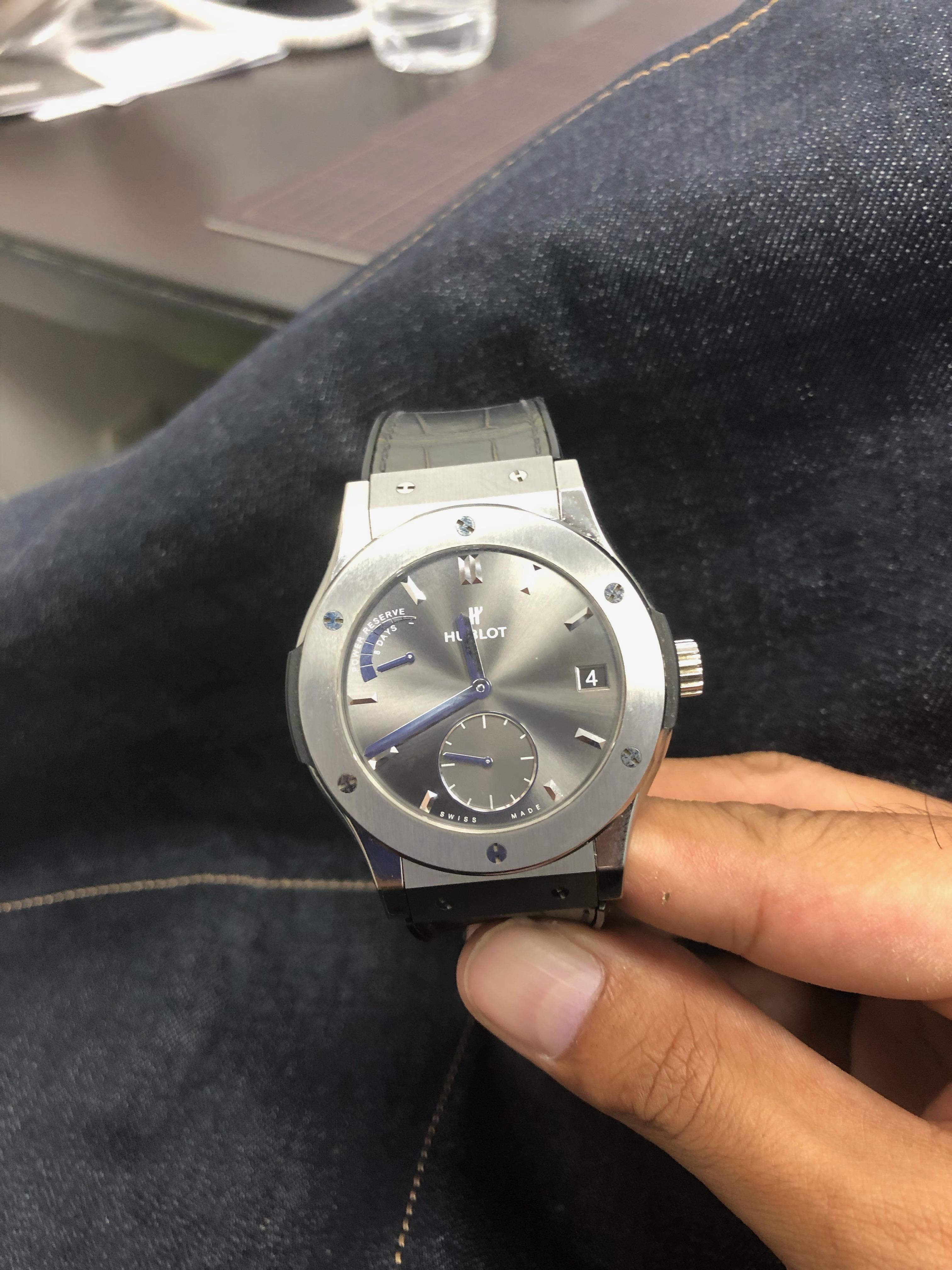 腕時計もガラスコーティング!!!   たぬphone (たぬふぉん)奈良